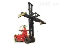 大连45吨重箱内燃集装箱平衡重叉车