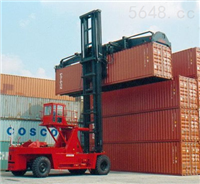 大连叉车42吨(3、4、5层箱)重箱作业叉车