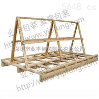 订制异形托盘 玻璃木架